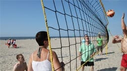 Beachvolleybal Scheveningen