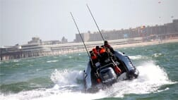 powerboat Scheveningen